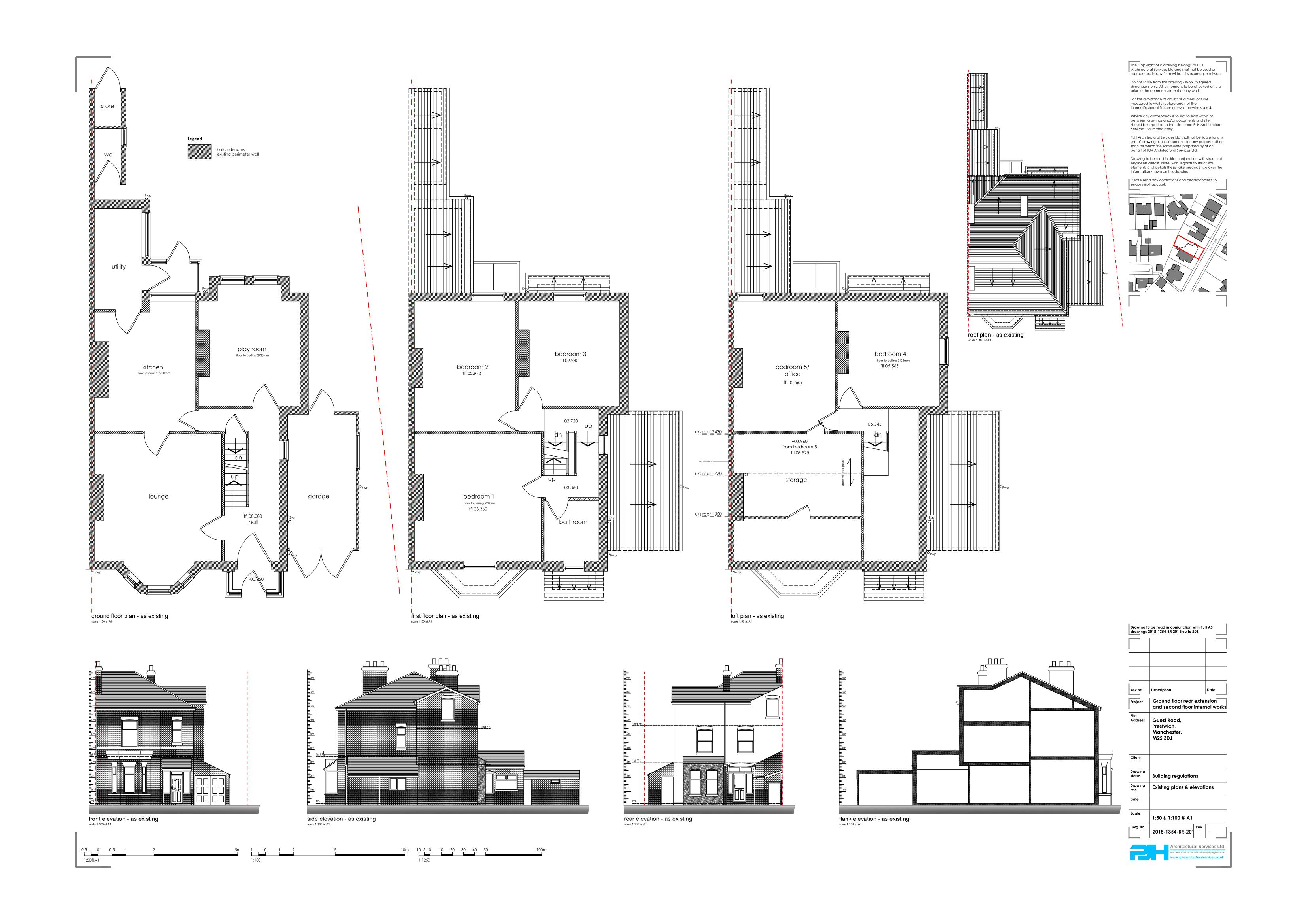 Architectural Plans Prestwich