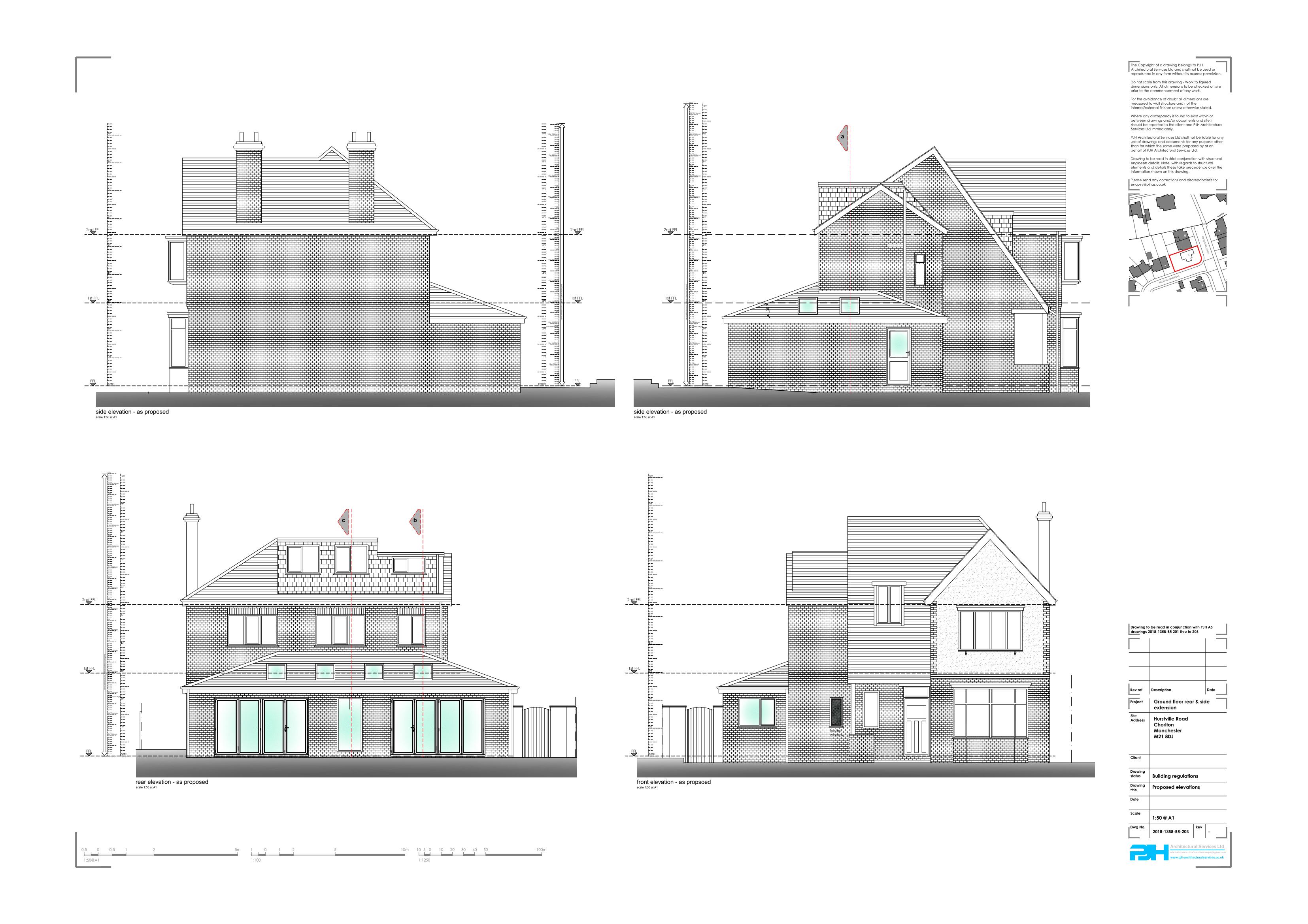 Architectural Plans Chorlton