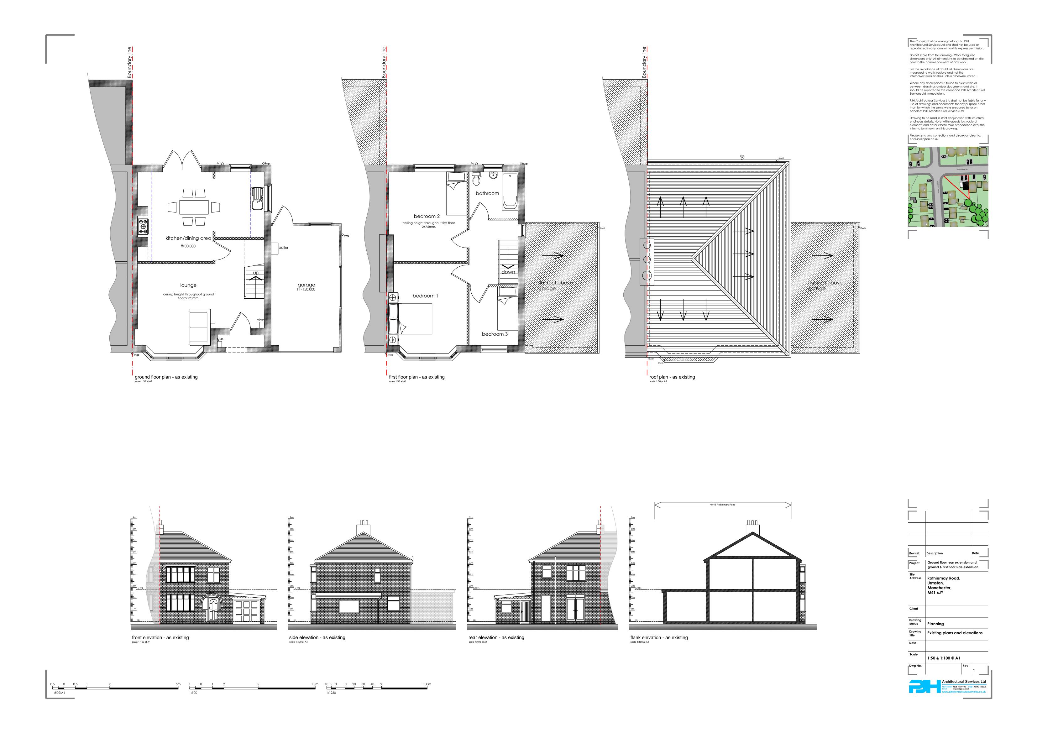 architectural plans flixton